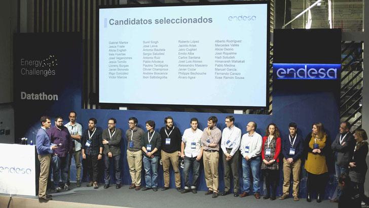 Seleccionados para la siguiente fase del Datathon Endesa