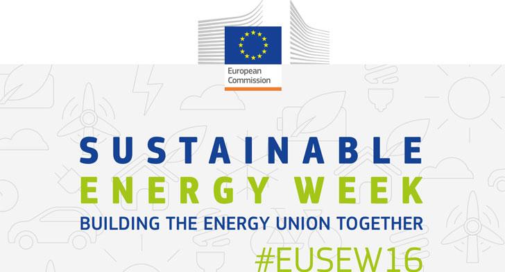 Cartel de la Semana Europea de la Energía Sostenible 2016