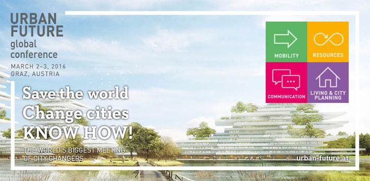 Imagen de convocatoria a la Conferencia Mundial sobre Futuro Urbano