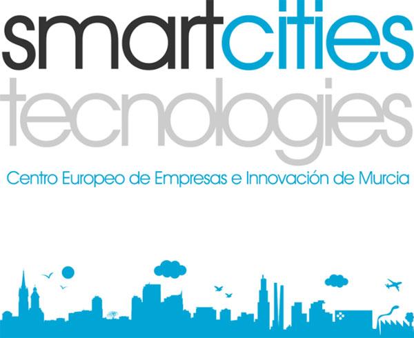 Portada de catálogo digital de start up sobre smart cities