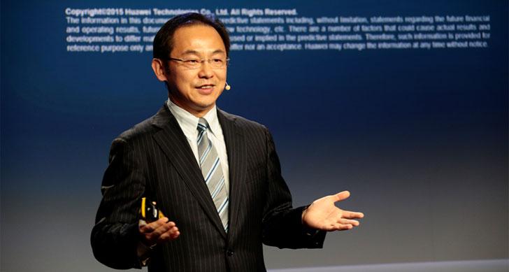 Ryan Ding, directivo de la compañía encargado de la presentación de GigaRadio