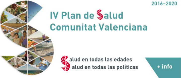 Captura del pantalla del proyecto de participación para el IV Plan de Salud