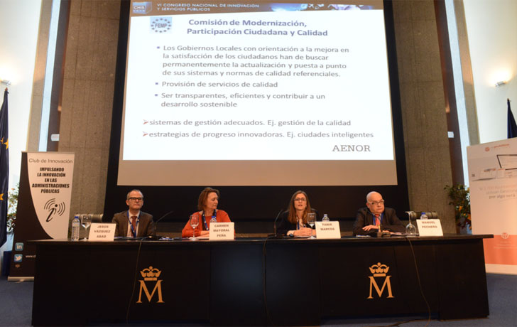 Presentación de la norma UNE66182 sobre evaluación de gestión municipal