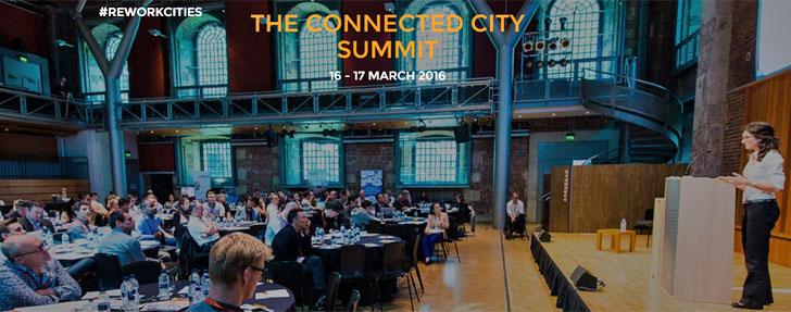 Imagen de edición anterior del evento The Connected City Summit