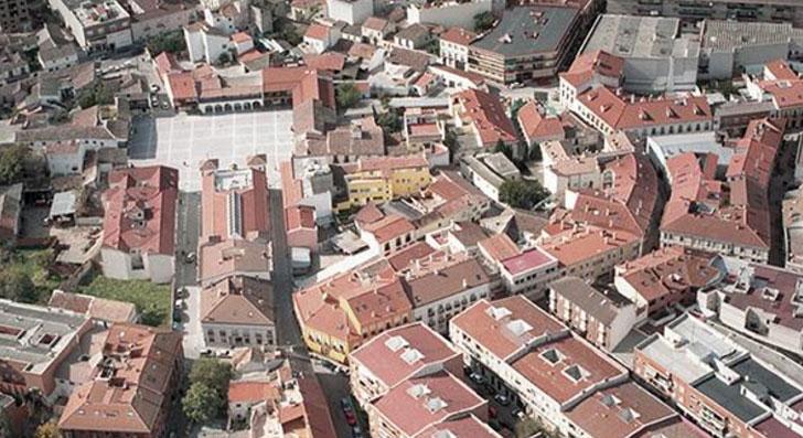 Imagen aérea de Pinto