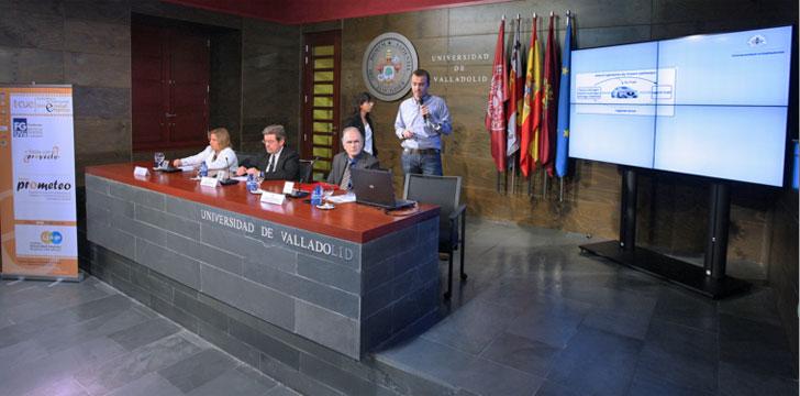 Miembros del equipo investigador de la Universidad de Valladolid