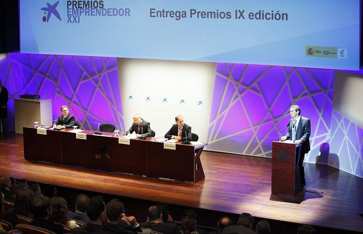 Entrega de premios de la novena edición de los Premios