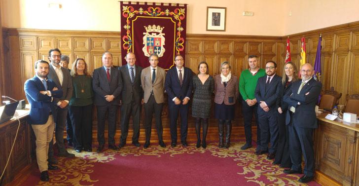 Miembros de la Junta Directiva de la Red Española de Ciudades Inteligentes