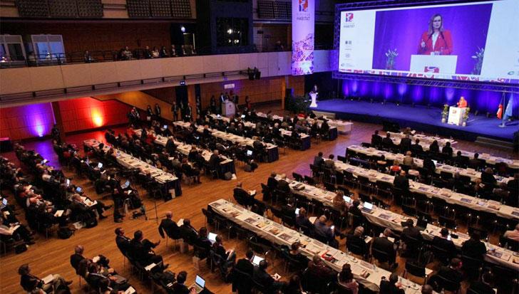 Sesión de la Conferencia European Habitat en Praga