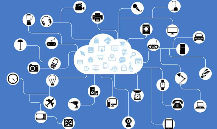 Infografía sobre el funcionamiento de Internet de las Cosas