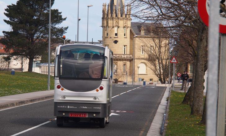 Prototipo de autobús automatizado y eléctrico