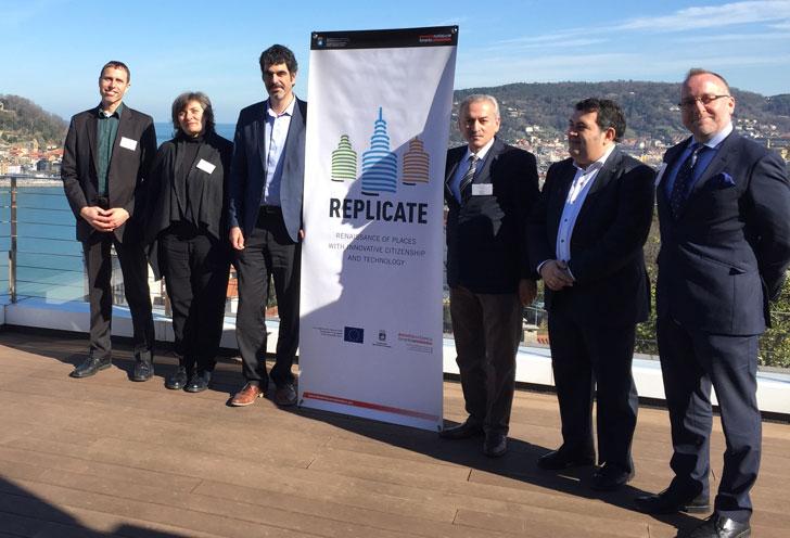 Presentación del proyecto Replicate en San Sebastián