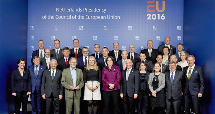 Foto de familia del Consejo Informal de Ministros de Transporte de la UE