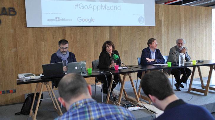 Presentación del concurso GoApp Madrid 2016