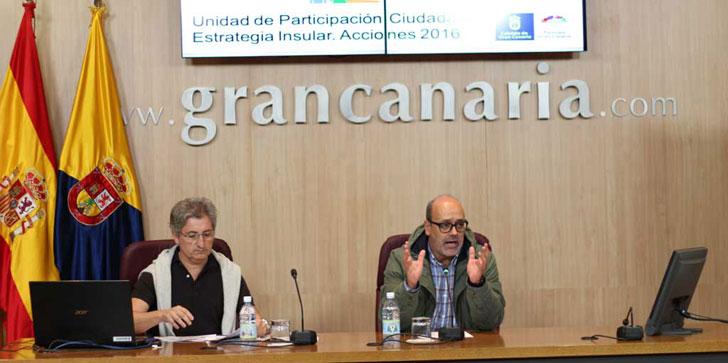 Responsables de la iniciativa Participa Gran Canaria presentan las medidas para este año