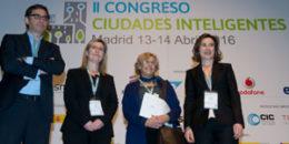 Inauguración II Congreso Ciudades Inteligentes