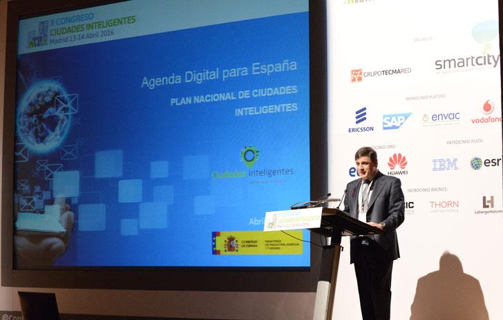 Enrique Martínez Marín coordinador del Plan Nacional de Ciudades Inteligentes