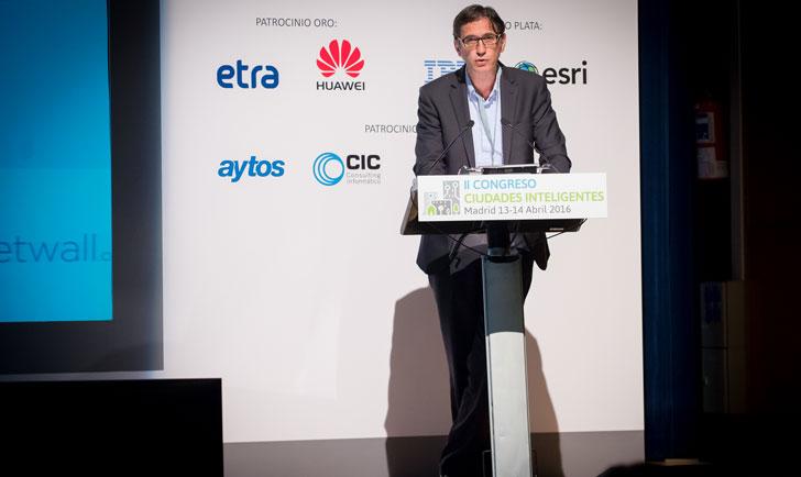 Daniel Noguera, director de Red.es en la inauguración del Congreso