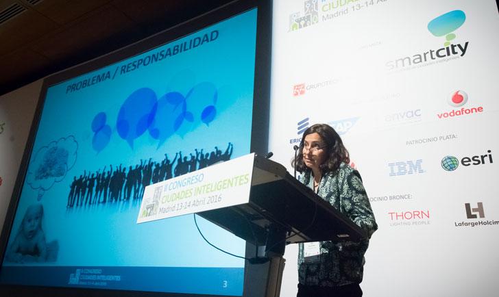 Lidia Parra Ortiz, responsable del proyecto Gijón SmartKids