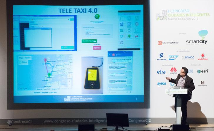 Jesús Fernandez, vicepresidente de la Federación Profesional del Taxi de Madrid