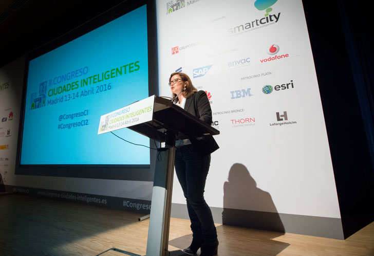 Raquel García de WWF España moderó el último bloque de ponencias