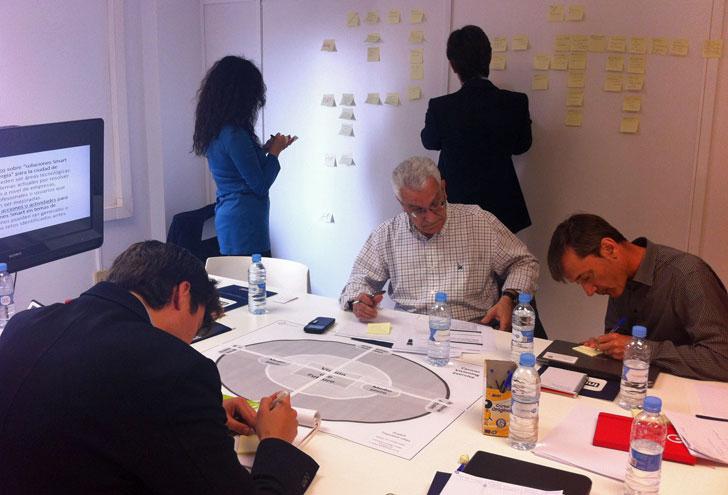 Taller de trabajo para identificar retos en la ciudad de Valencia