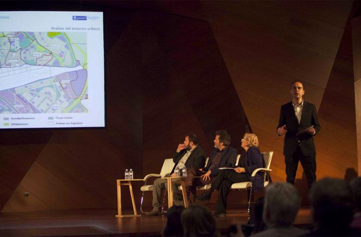 Calvo presenta su estrategia municipal para Madrid, Puerta Norte.