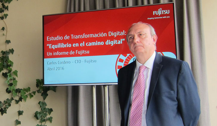 Carlos Cordero es el CTO de Fujitsu