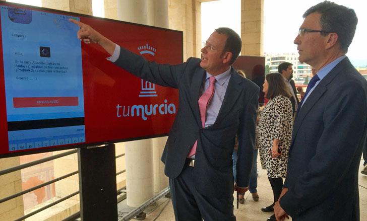 Presentación de la aplicación TuMurcia