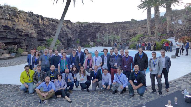 Participantes en el reto Lanzarote Cognitive Tourist Challenge