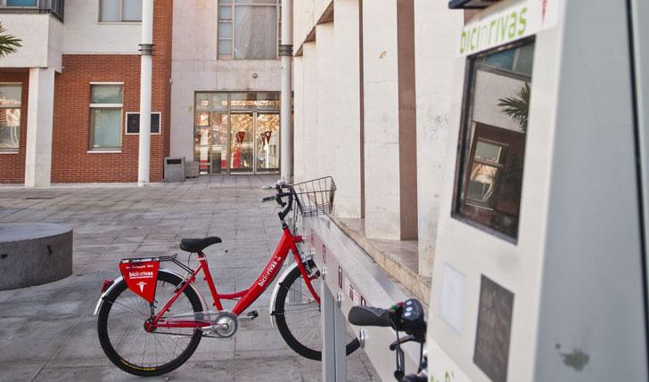 Sistema de préstamo de bicis de Rivas Vaciamadrid