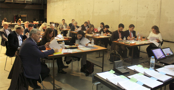 Mesas de trabajo del Comité Técnico de EECN.