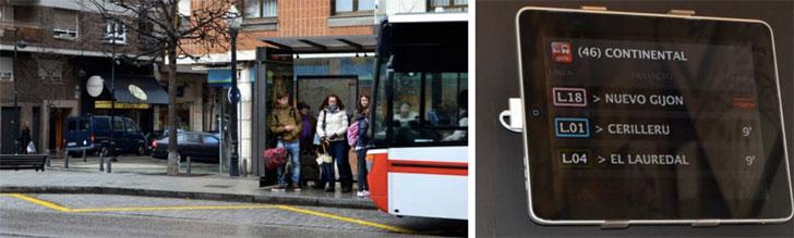 Parada bus Continental, frente a la cafetería Reconquista