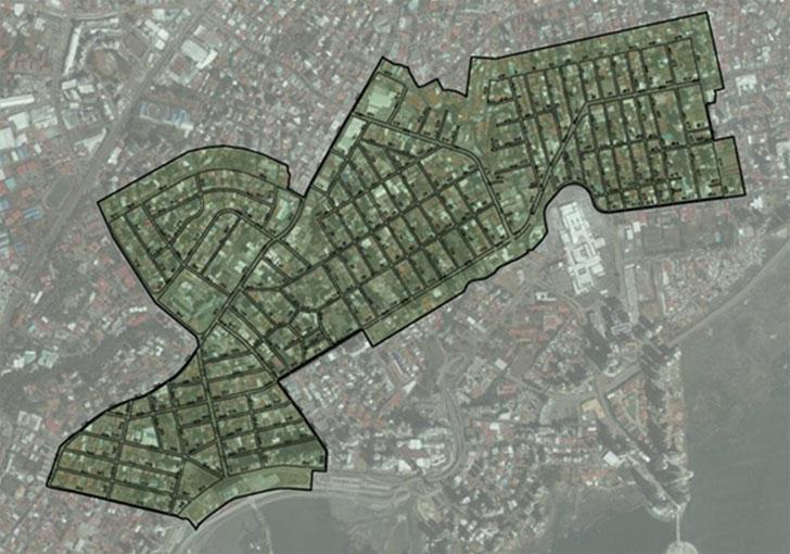 Área de estudio en Ciudad de Panamá