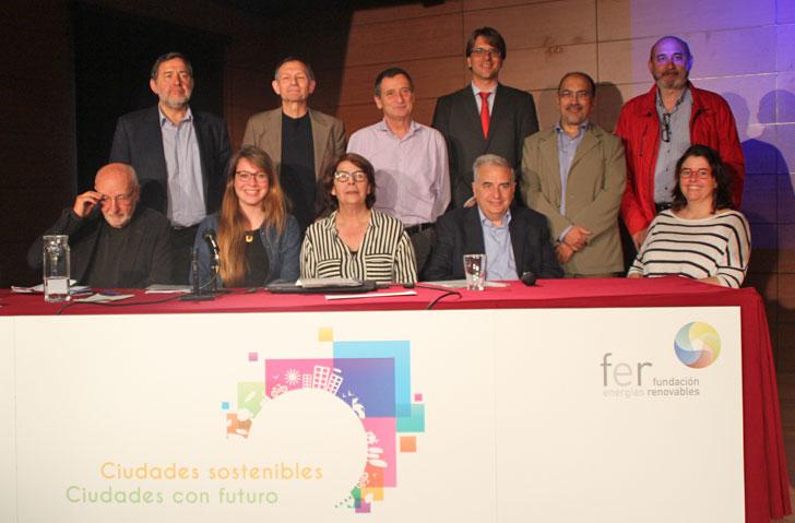 Clausura de la Jornada Ciudades Sostenibles. Ciudades con Futuro, en Madrid