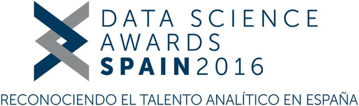 Certamen de premios Data Science Awards Spain 2016