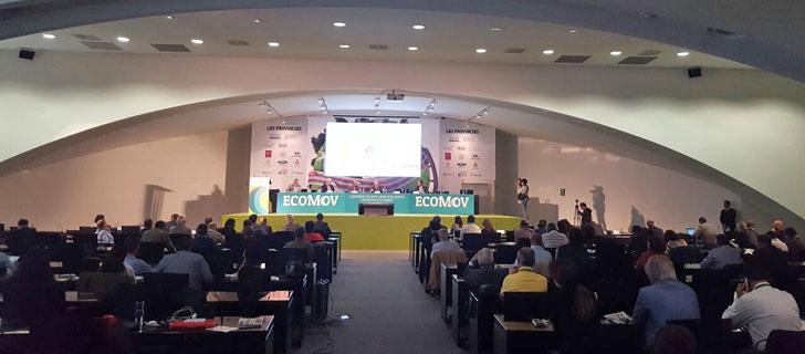 Un momento de la celebración del I Congreso de Eco-Movilidad Inteligente