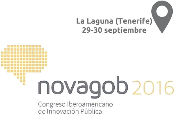 Logotipo del congreso organizado por NovaGob