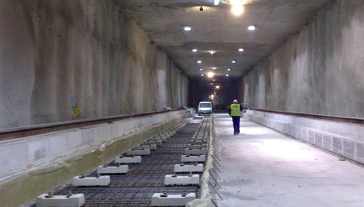 Obras en el Metro de Granada