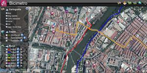 Bicimetro, ¿cómo circular de forma segura y rápida en bicicleta por tu ciudad? Experiencia en la ciudad de Valladolid