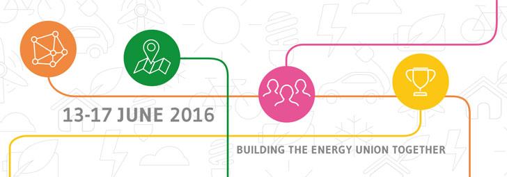 Imagen promocional de la Semana de la Energía Sostenible de la Unión Europea