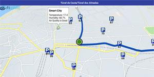 Soluciones de movilidad urbana en modo peatón, transporte público y automóvil a través de la plataforma de Here Maps