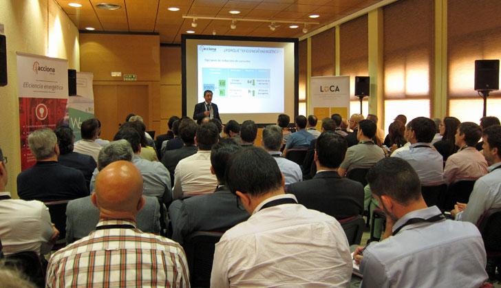 Sala-taller durante uno de los talleres impartidos en el evento