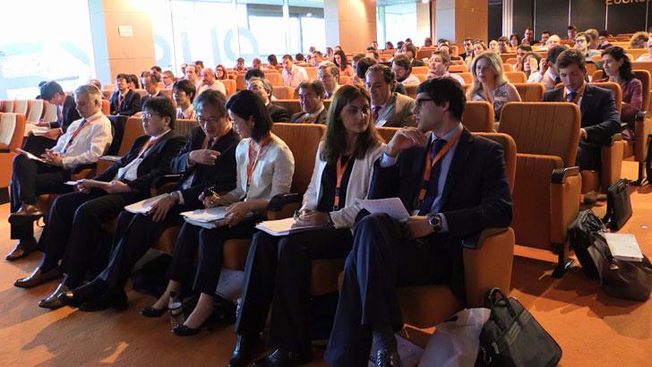 Jornada en la que participaron expertos en energía térmica de Japón y de Euskadi