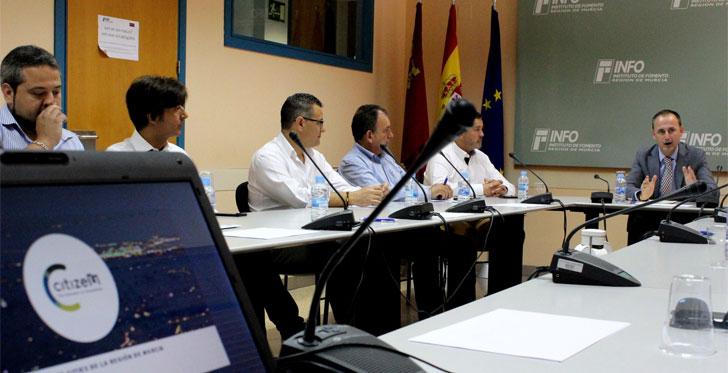 Presentación del clúster CitizeM sobre ciudades inteligentes en la Región de Murcia