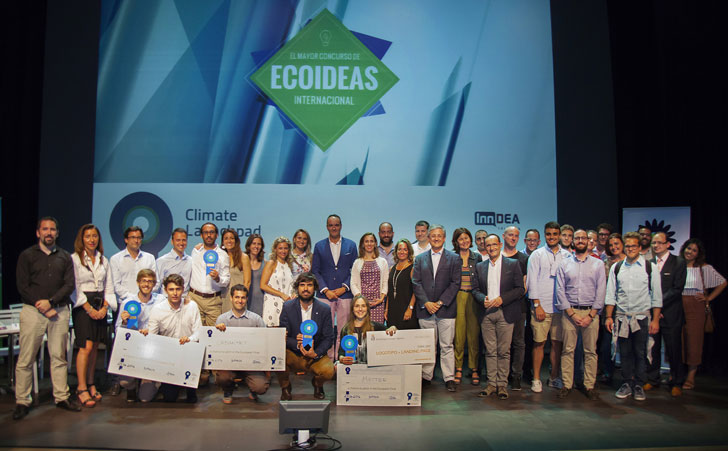 El proyecto que recupera los residuos de la industria agroalimentaria como material de construcción han sido premiados. Ganadores de ClimateLaunchepad
