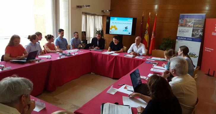 Reunión de Coordinadores Nacionales de la UE sobre Movilidad en Murcia