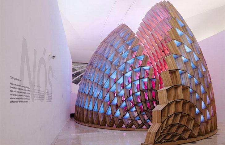 Nuevas iluminaciones eficientes de Philips en la ciudad de Río de Janeiro. Iluminación Museu do Amanhã