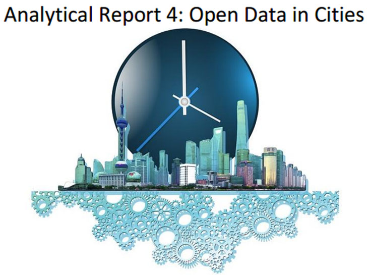 El informe Analytical Report 4: Open Data in Cities' sitúa a Barcelona entre las ciudades con mejores prácticas en datos abiertos. Perfil de las ciudades con un reloj