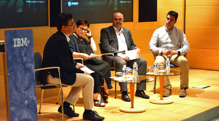 Mesa redonda sobre 'La transformación digital de las ciudades' de IBM